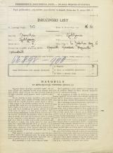 Popis prebivalstva 31. 3. 1931<br />Ljubljana<br />Svetega Jakoba trg 5<br />Population census 31 March 1931