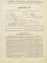 Popis prebivalstva 31. 3. 1931<br />Ljubljana<br />Svetega Jakoba trg 7<br />Population census 31 March 1931