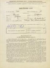 Popis prebivalstva 31. 3. 1931<br />Ljubljana<br />Svetega Jakoba trg 8<br />Population census 31 March 1931