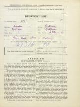 Popis prebivalstva 31. 3. 1931<br />Ljubljana<br />Svetega Petra cesta 19<br />Population census 31 March 1931