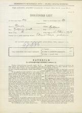 Popis prebivalstva 31. 3. 1931<br />Ljubljana<br />Svetega Petra cesta 19b<br />Population census 31 March 1931