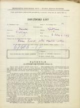 Popis prebivalstva 31. 3. 1931<br />Ljubljana<br />Svetega Petra cesta 23<br />Population census 31 March 1931