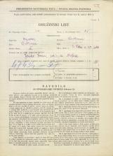 Popis prebivalstva 31. 3. 1931<br />Ljubljana<br />Svetega Petra cesta 24<br />Population census 31 March 1931