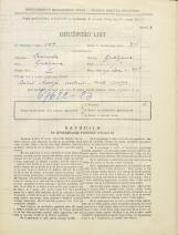Popis prebivalstva 31. 3. 1931<br />Ljubljana<br />Svetega Petra cesta 39<br />Population census 31 March 1931