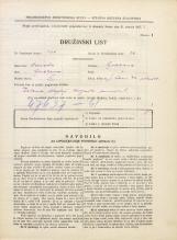 Popis prebivalstva 31. 3. 1931<br />Ljubljana<br />Svetega Petra cesta 40<br />Population census 31 March 1931