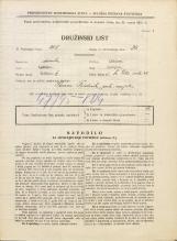 Popis prebivalstva 31. 3. 1931<br />Ljubljana<br />Svetega Petra cesta 48<br />Population census 31 March 1931