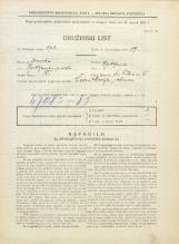 Popis prebivalstva 31. 3. 1931<br />Ljubljana<br />Svetega Petra cesta 5<br />Population census 31 March 1931