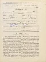 Popis prebivalstva 31. 3. 1931<br />Ljubljana<br />Svetega Petra cesta 50<br />Population census 31 March 1931