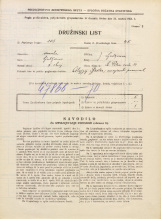 Popis prebivalstva 31. 3. 1931<br />Ljubljana<br />Svetega Petra cesta 51<br />Population census 31 March 1931