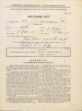Popis prebivalstva 31. 3. 1931<br />Ljubljana<br />Svetega Petra cesta 52<br />Population census 31 March 1931