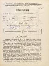 Popis prebivalstva 31. 3. 1931<br />Ljubljana<br />Svetega Petra cesta 53<br />Population census 31 March 1931