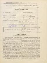 Popis prebivalstva 31. 3. 1931<br />Ljubljana<br />Svetega Petra cesta 59<br />Population census 31 March 1931