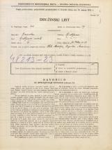 Popis prebivalstva 31. 3. 1931<br />Ljubljana<br />Svetega Petra cesta 81<br />Population census 31 March 1931