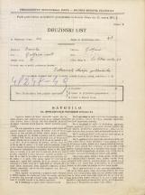 Popis prebivalstva 31. 3. 1931<br />Ljubljana<br />Svetega Petra cesta 83<br />Population census 31 March 1931