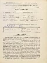 Popis prebivalstva 31. 3. 1931<br />Ljubljana<br />Svetega Petra cesta 93<br />Population census 31 March 1931