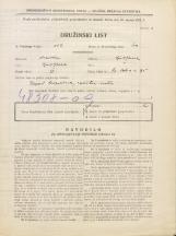 Popis prebivalstva 31. 3. 1931<br />Ljubljana<br />Svetega Petra cesta 95<br />Population census 31 March 1931