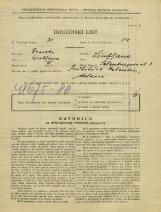 Popis prebivalstva 31. 3. 1931<br />Ljubljana<br />Šelenburgova ulica 3<br />Population census 31 March 1931