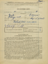 Popis prebivalstva 31. 3. 1931<br />Ljubljana<br />Škofja ulica 15<br />Population census 31 March 1931
