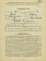 Popis prebivalstva 31. 3. 1931<br />Ljubljana<br />Škofja ulica 17<br />Population census 31 March 1931