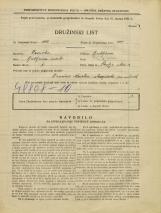 Popis prebivalstva 31. 3. 1931<br />Ljubljana<br />Škofja ulica 3<br />Population census 31 March 1931