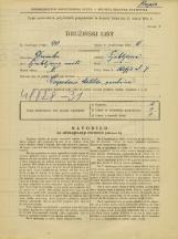 Popis prebivalstva 31. 3. 1931<br />Ljubljana<br />Škofja ulica 7<br />Population census 31 March 1931