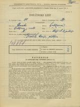Popis prebivalstva 31. 3. 1931<br />Ljubljana<br />Škofja ulica 8<br />Population census 31 March 1931