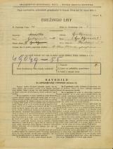 Popis prebivalstva 31. 3. 1931<br />Ljubljana<br />Škrabčeva ulica 4<br />Population census 31 March 1931