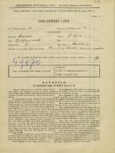 Popis prebivalstva 31. 3. 1931<br />Ljubljana<br />Škrabčeva ulica 7<br />Population census 31 March 1931