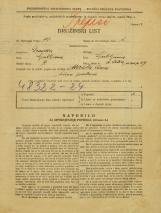 Popis prebivalstva 31. 3. 1931<br />Ljubljana<br />Svetega Petra nasip 29<br />Population census 31 March 1931