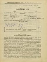 Popis prebivalstva 31. 3. 1931<br />Ljubljana<br />Svetega Petra nasip 37<br />Population census 31 March 1931