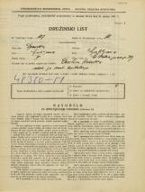 Popis prebivalstva 31. 3. 1931<br />Ljubljana<br />Svetega Petra nasip 39<br />Population census 31 March 1931