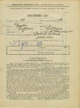 Popis prebivalstva 31. 3. 1931<br />Ljubljana<br />Svetega Petra nasip 43<br />Population census 31 March 1931