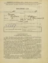 Popis prebivalstva 31. 3. 1931<br />Ljubljana<br />Svetega Petra nasip 49<br />Population census 31 March 1931