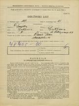 Popis prebivalstva 31. 3. 1931<br />Ljubljana<br />Svetega Petra nasip 53<br />Population census 31 March 1931