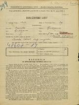 Popis prebivalstva 31. 3. 1931<br />Ljubljana<br />Svetega Petra nasip NN1<br />Population census 31 March 1931