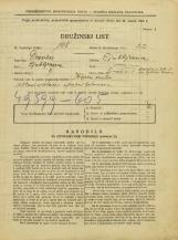Popis prebivalstva 31. 3. 1931<br />Ljubljana<br />Šmartinska cesta 1<br />Population census 31 March 1931