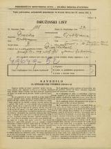 Popis prebivalstva 31. 3. 1931<br />Ljubljana<br />Šmartinska cesta 10<br />Population census 31 March 1931