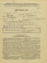 Popis prebivalstva 31. 3. 1931<br />Ljubljana<br />Šmartinska cesta 11<br />Population census 31 March 1931