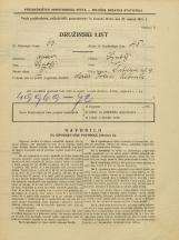 Popis prebivalstva 31. 3. 1931<br />Ljubljana<br />Šubičeva ulica 9<br />Population census 31 March 1931