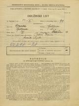 Popis prebivalstva 31. 3. 1931<br />Ljubljana<br />Švabičeva ulica 13<br />Population census 31 March 1931