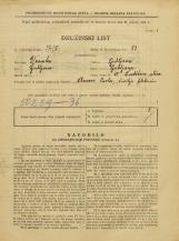 Popis prebivalstva 31. 3. 1931<br />Ljubljana<br />Švabičeva ulica 15<br />Population census 31 March 1931