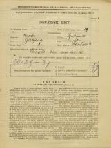 Popis prebivalstva 31. 3. 1931<br />Ljubljana<br />Švabičeva ulica 4<br />Population census 31 March 1931