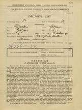 Popis prebivalstva 31. 3. 1931<br />Ljubljana<br />Švabičeva ulica 7<br />Population census 31 March 1931
