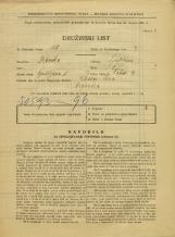 Popis prebivalstva 31. 3. 1931<br />Ljubljana<br />Tabor 2<br />Population census 31 March 1931