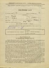 Popis prebivalstva 31. 3. 1931<br />Ljubljana<br />Tavčarjeva ulica 10<br />Population census 31 March 1931