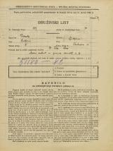 Popis prebivalstva 31. 3. 1931<br />Ljubljana<br />Tavčarjeva ulica 15<br />Population census 31 March 1931
