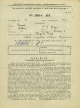 Popis prebivalstva 31. 3. 1931<br />Ljubljana<br />Tavčarjeva ulica 2<br />Population census 31 March 1931