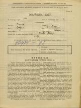 Popis prebivalstva 31. 3. 1931<br />Ljubljana<br />Tavčarjeva ulica 4<br />Population census 31 March 1931