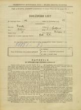 Popis prebivalstva 31. 3. 1931<br />Ljubljana<br />Tavčarjeva ulica 5<br />Population census 31 March 1931