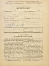 Popis prebivalstva 31. 3. 1931<br />Ljubljana<br />Tomšičeva ulica 1<br />Population census 31 March 1931